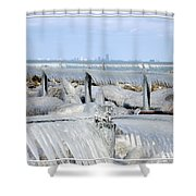 Natures Ice Sculptures 12 Shower Curtain