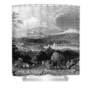 New Hampshire, 1839 Shower Curtain