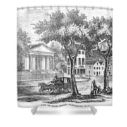 New Hampshire: Portsmouth Shower Curtain