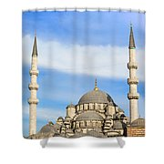 New Mosque In Istanbul Shower Curtain
