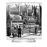 New Orleans Fair, 1884 Shower Curtain
