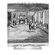 New York: Fraunces Tavern Shower Curtain