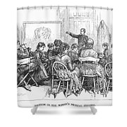 New York: Medical College Shower Curtain