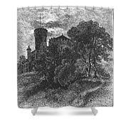 New York State: Castle Shower Curtain