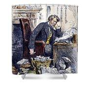 Newspaper Editor, 1880 Shower Curtain