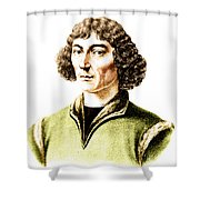 Nicolaus Copernicus, Polish Astronomer Shower Curtain