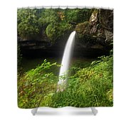 North Falls Canyon Shower Curtain