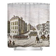 Occupied New York, 1776 Shower Curtain