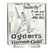 Ogdens Cigarettes, 1897 Shower Curtain