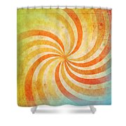 Old Grunge Paper Shower Curtain