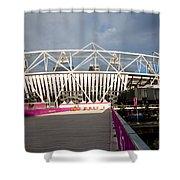Olympic Stadium Shower Curtain