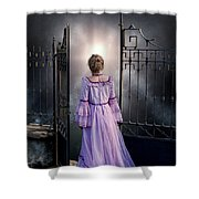 Open Gate Shower Curtain