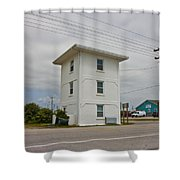 Operation Bumblebee Control Tower Shower Curtain