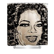 Oprah Winfrey In 2007 Shower Curtain