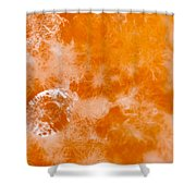 Orange 2 Shower Curtain