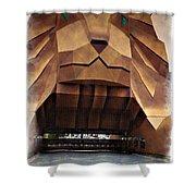 Original Mgm Grand Lion 1994 - Impressions Shower Curtain
