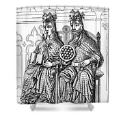 Otto I (912-973) Shower Curtain