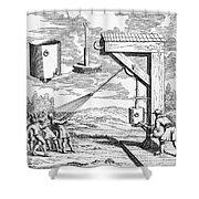 Otto Von Guericke, 1672 Shower Curtain