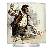 Owen Lovejoy (1811-1864) Shower Curtain by Granger