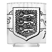 Oxford: Coat Of Arms Shower Curtain