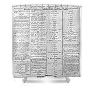 Parade For The Us Constitution Shower Curtain