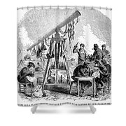 Paris Commune, 1871 Shower Curtain
