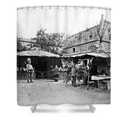 Paris Exposition, 1889 Shower Curtain
