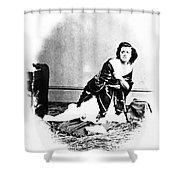 Pauline Cushman (1833-1893) Shower Curtain