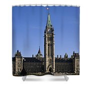 Peace Tower, Parliament Building Shower Curtain