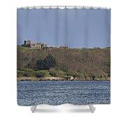 Pendennis Castle  Shower Curtain