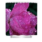 Petal Bling Shower Curtain