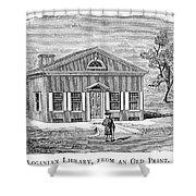 Philadelphia: Library Shower Curtain