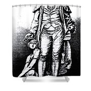 Philippe Pinel, French Physician Shower Curtain