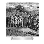 Pilgrims: Massasoit Shower Curtain