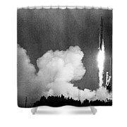 Pioneer Venus 1, 1978 Shower Curtain