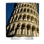 Pisa Tower Shower Curtain