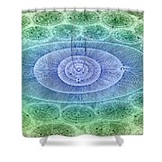 Plurality Of Worlds, Leonhard Euler Shower Curtain