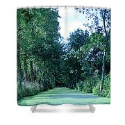 Poitevin Marsh Shower Curtain