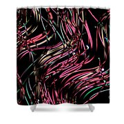 Polyester Fibers Shower Curtain