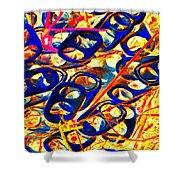 Pop Art B15 Shower Curtain