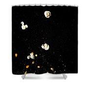 Popcorn Popping Shower Curtain