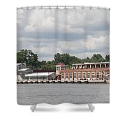 Port Of Rochester Shower Curtain