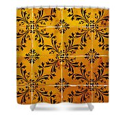 Portuguese Tiles Shower Curtain