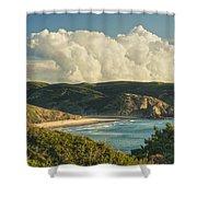Praia Do Amado Shower Curtain