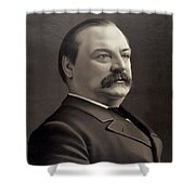 President Grover Cleveland Shower Curtain