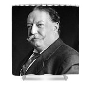 President William Howard Taft Shower Curtain by International  Images