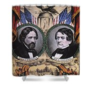 Presidential Campaign, 1856 Shower Curtain