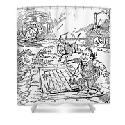 Presidential Campaign, 1900 Shower Curtain