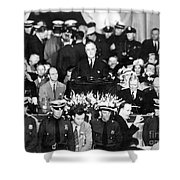 Presidential Campaign, 1936 Shower Curtain