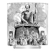 Prince Otto Von Bismarck Shower Curtain